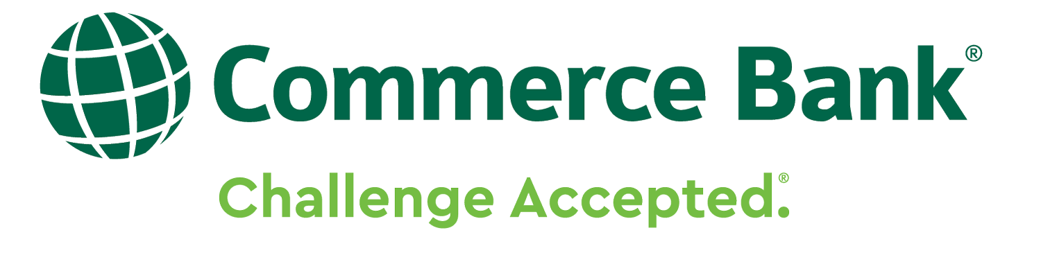 Commerce Bank(TM) Member of FDIC | Challenge Accepted Logo