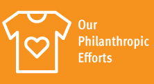 our philanthropic efforts
