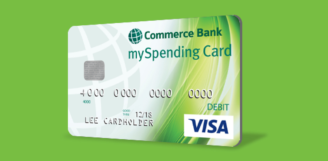 Visa Karte Prepaid.Credit Debit And Prepaid Cards Commerce Bank