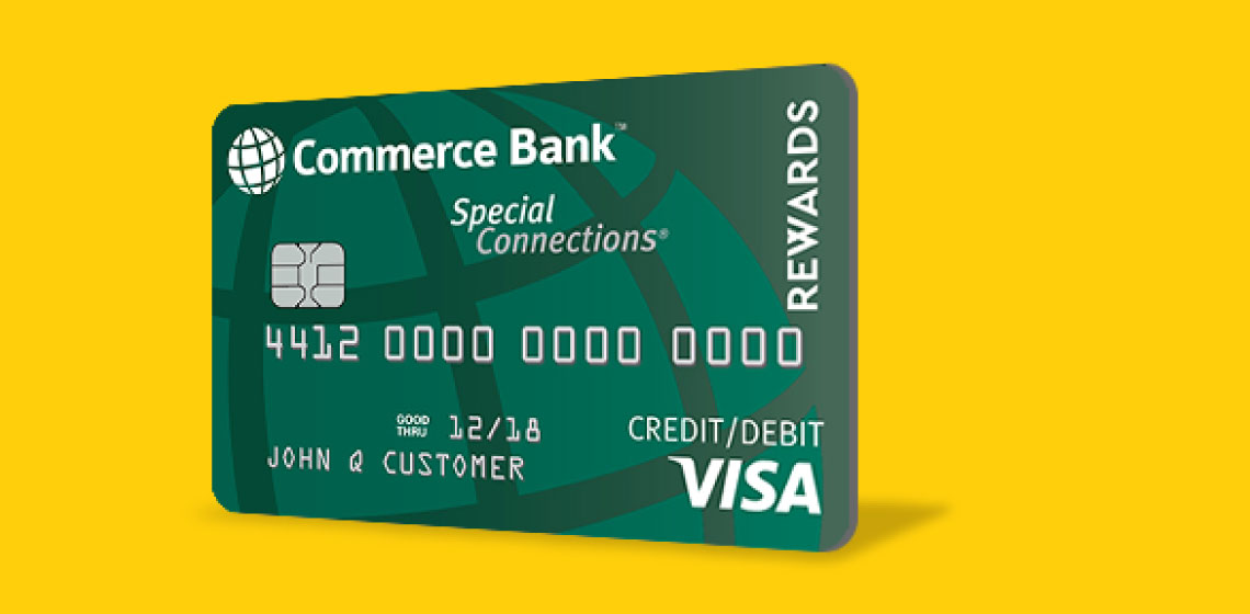 Commerce Bank Card