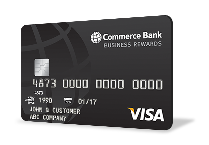 Commerce Bank Business Reward Credit Card