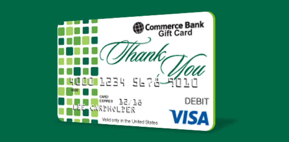 Business cards commerce bank commerce bank business gift card colourmoves Choice Image
