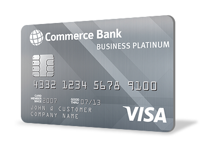 Small business credit cards commerce bank commerce bank business platinum credit card colourmoves