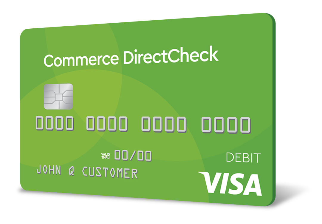 Commerce Bank DirectCheck Card