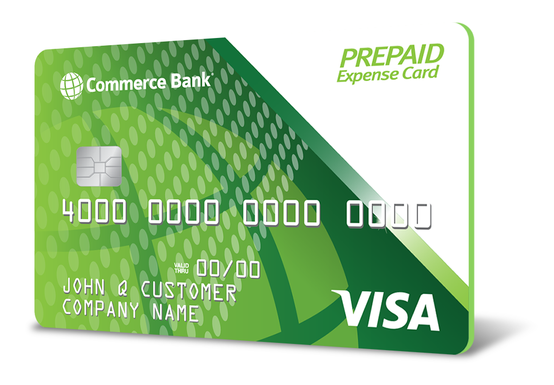 Commerce Bank Prepaid Expense Card