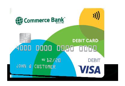Visa Debit Cards | Commerce Bank