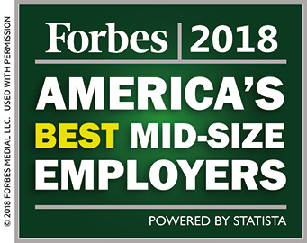 Forbes 2018 America's Best Mid-size Employers