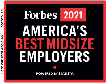 Forbes 2021 America's Best Mid-Sized Employers