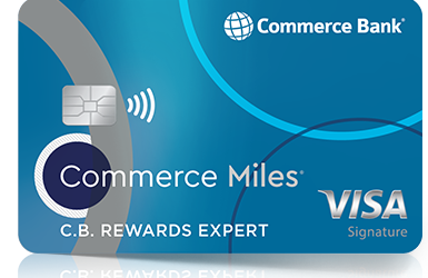 Commerce Miles Card