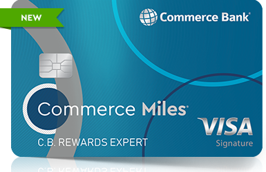 Commerce Miles card NEW