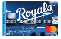 KC Royals Mastercard credit card