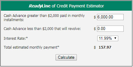 RLOC Payment Example