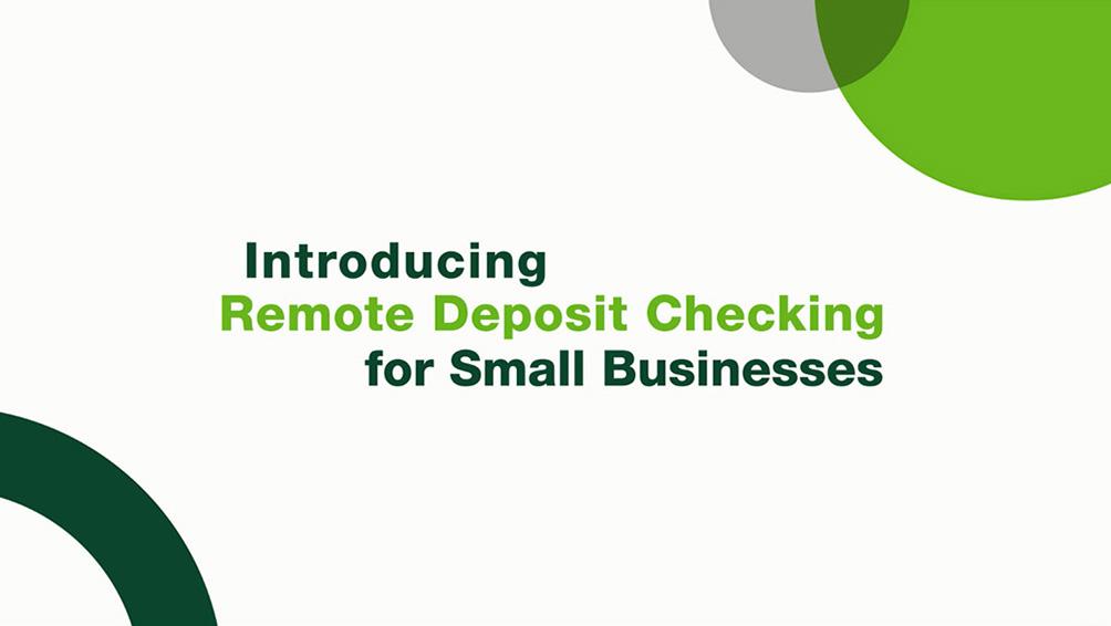 Remote Deposit Check Scanner | Commerce Bank