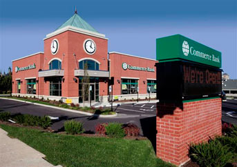 Commerce Bank's New Green Building in O'Fallon, Missouri