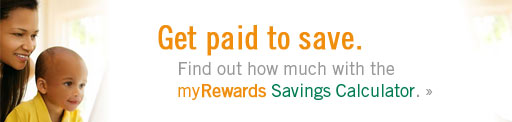 myRewards Savings Calculator