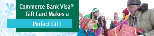 Visa Gift Cards - the perfect gift for everyone on your list!