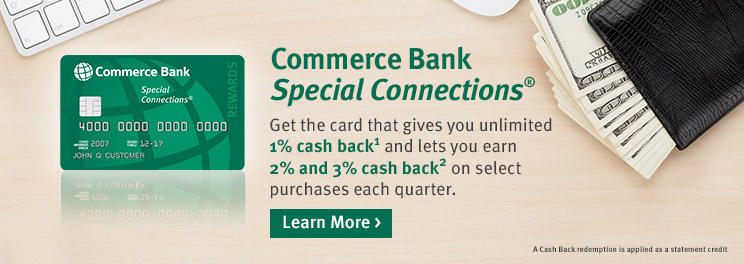 Commerce Bank Special Connections >