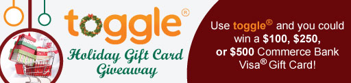 Toggle Holiday Giftcard Giveaway
