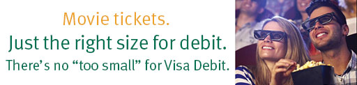 Visa Debit Card >