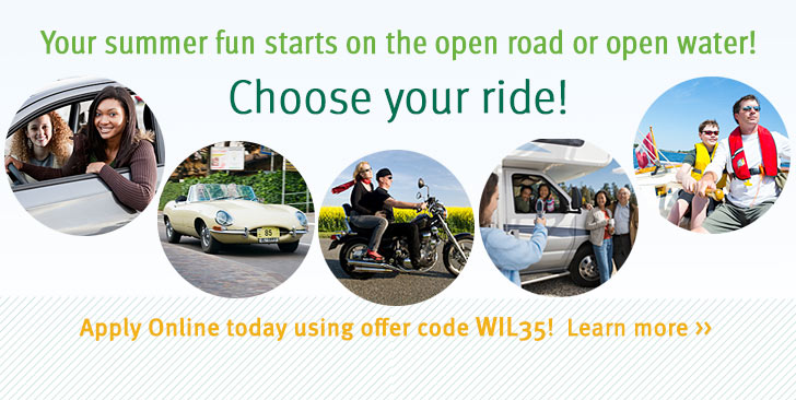 Your summer fun starts on the open road or open water! Choose your ride! >