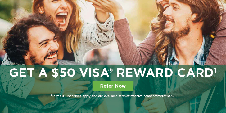 Get a $50 Visa® Reward Card