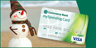 Tis the season… let a mySpending Card® help you save today for holiday gift giving.
