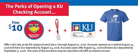 University of Kansas Checking Account