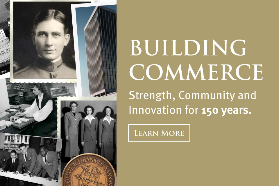 Building Commerce. Strength, Community and Inovation for 150 years.