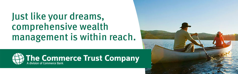 Just like your dreams, comprehensive wealth management is within reach. The Commerce Trust Company.